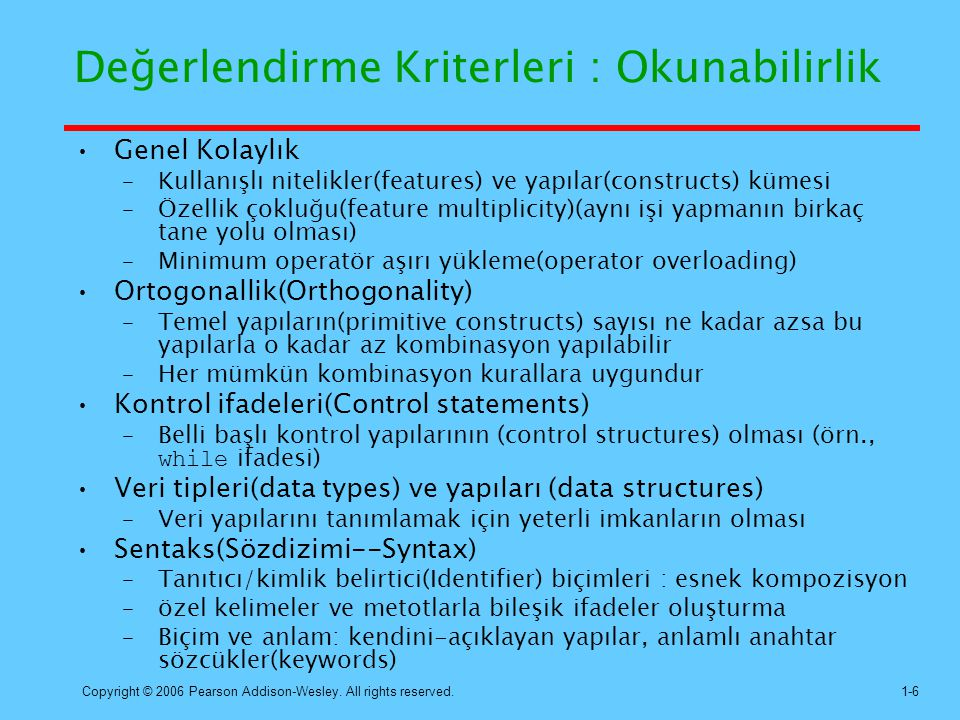 Copyright © 2006 Pearson Addison-Wesley. All rights reserved.1-27 Hibrit İmplementasyon İşlemi