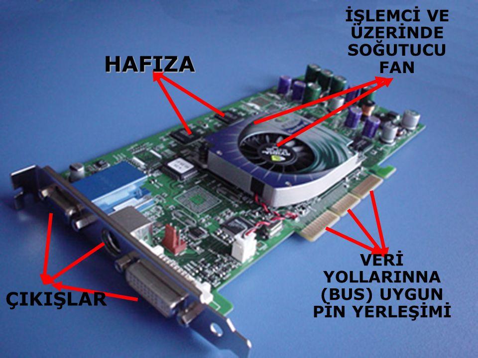 AGP, özellikle ekran kartları için tasarlanmış yüksek hızlı bir ara yüz.