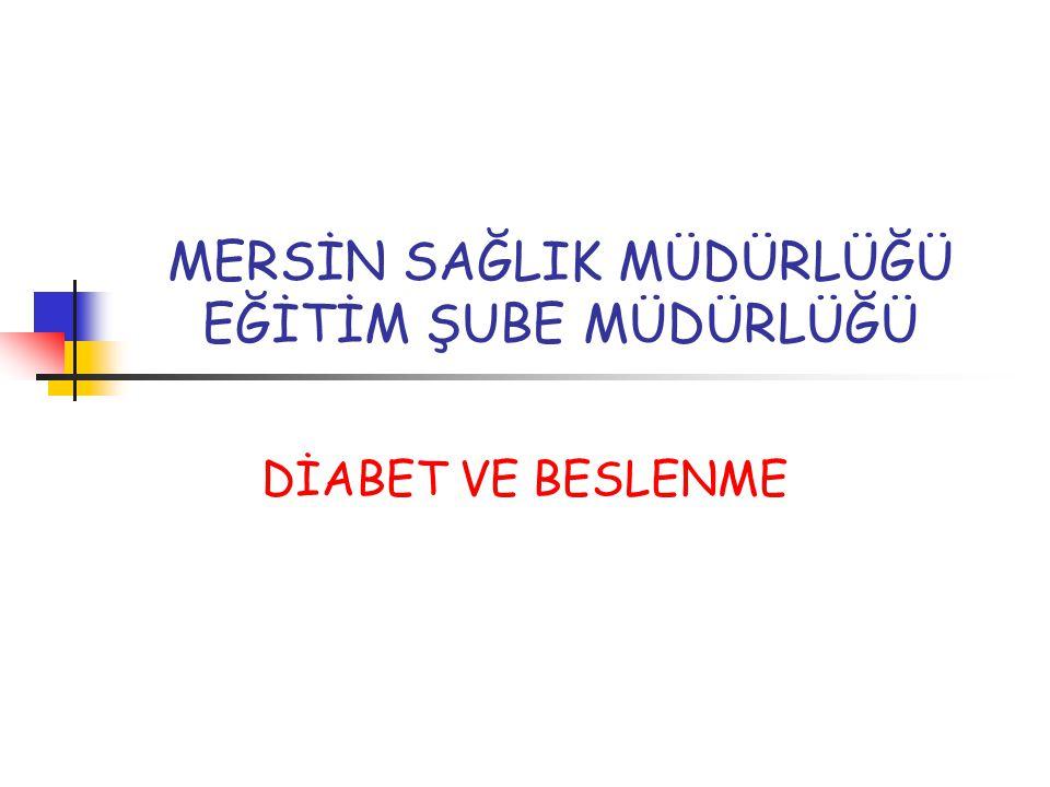 Diyabet, ülkemizde görülme sıklığı giderek artan, ciddi organ kayıplarına yol açan ve yaşam kalitesini olumsuz yönde etkileyebilen kronik bir hastalıktır.