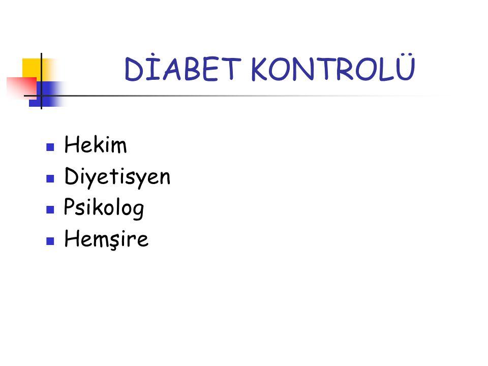 BESLENME TEDAVİSİ Diyabetin kontrolünde temel yapı taşlarından biri beslenme tedavisidir.