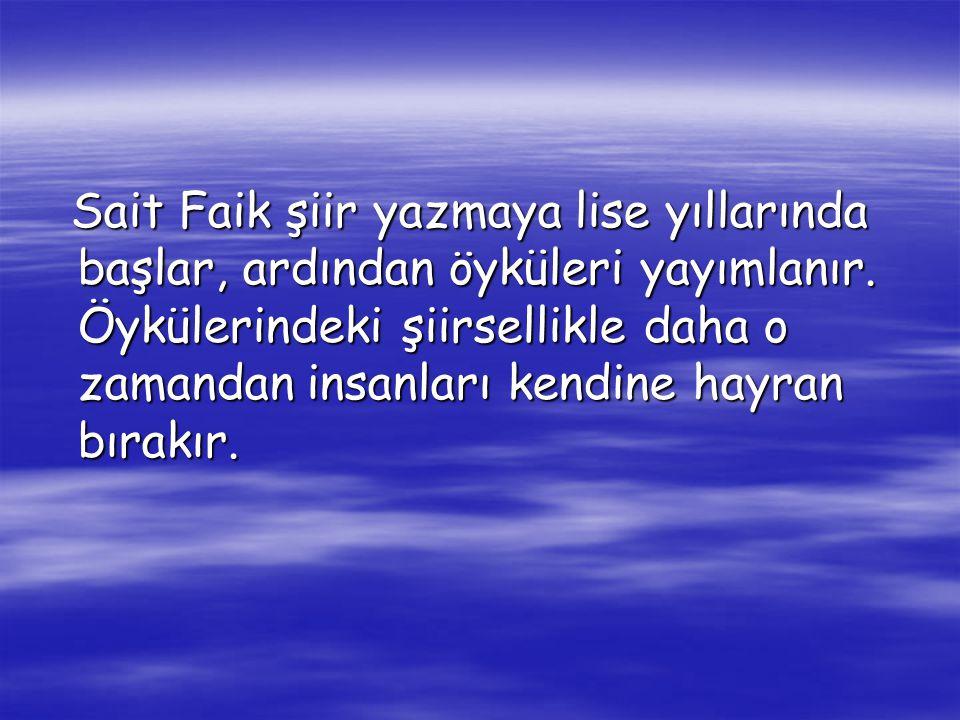 Gerçek adı Mehmet Sait olan Abasıyanık, 23 Kasım 1906'da Adapazarı'nda doğdu, 11 Mayıs 1954'te İstanbul'da öldü. İlköğrenimini Adapazarı'nda yaptı. Ku