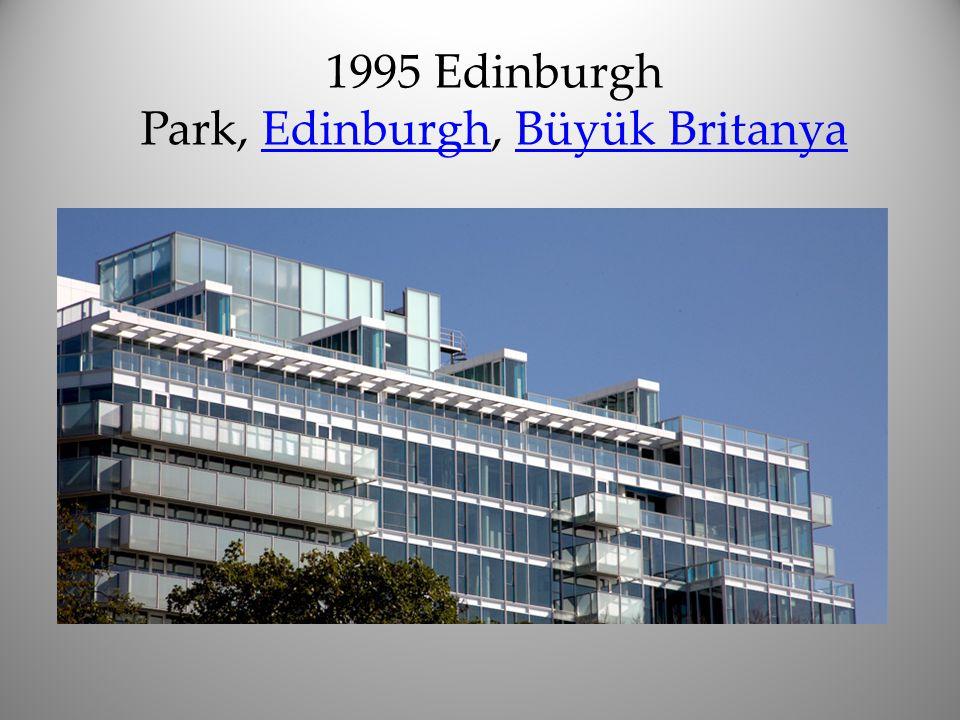 1995 Edinburgh Park, Edinburgh, Büyük BritanyaEdinburghBüyük Britanya