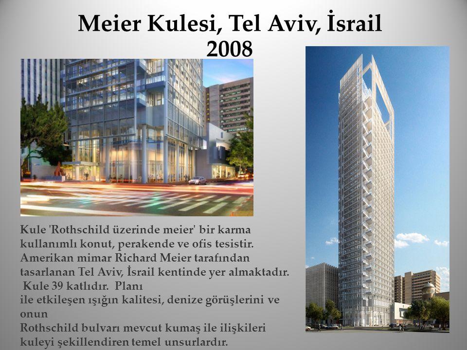 Kule 'Rothschild üzerinde meier' bir karma kullanımlı konut, perakende ve ofis tesistir. Amerikan mimar Richard Meier tarafından tasarlanan Tel Aviv,