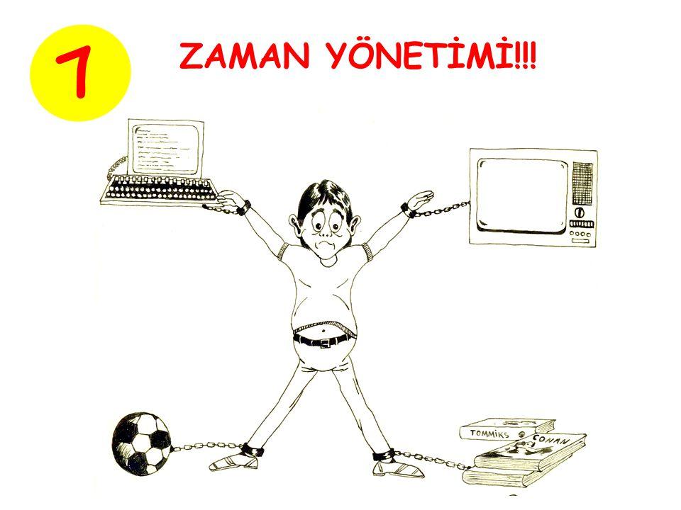 7 ZAMAN YÖNETİMİ!!!
