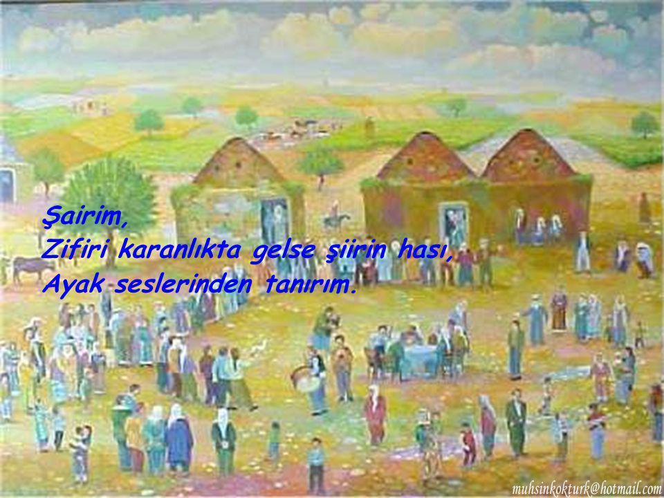 BEDRİ RAHMİ EYÜBOĞLU'NDAN