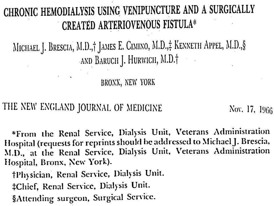 Hemodiyaliz olguları için ideal bir damar yolu nasıl olmalıdır.