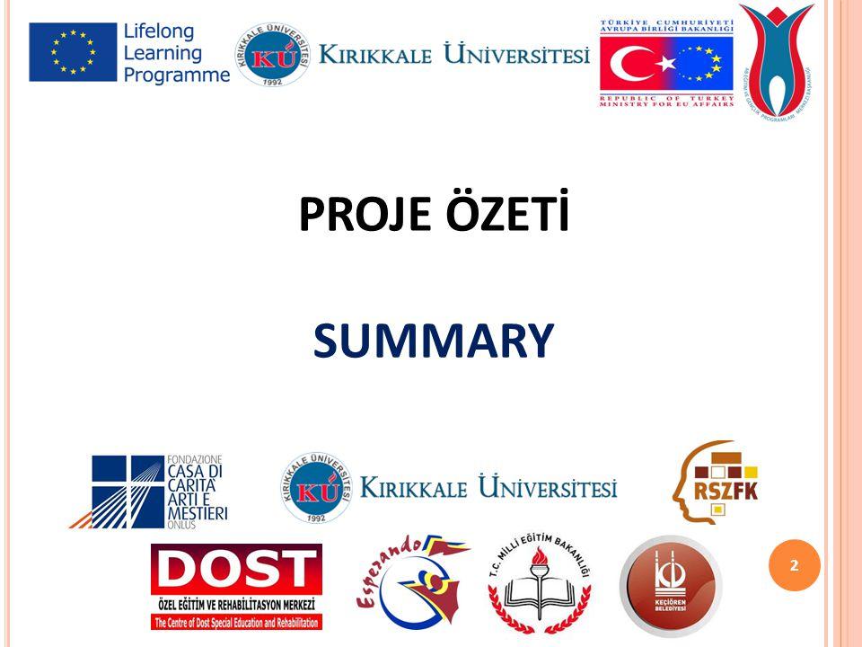 PROJE ÖZETİ SUMMARY 2