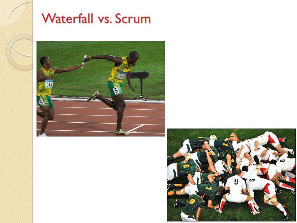 Waterfall vs. Scrum