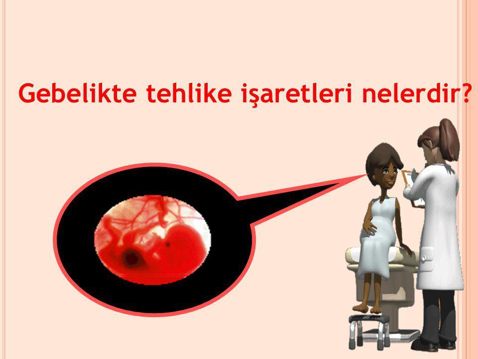 Yeni doğum yapmış bir kadının doğumdan sonra 1- 2 gün hastanede yatması gerekir.