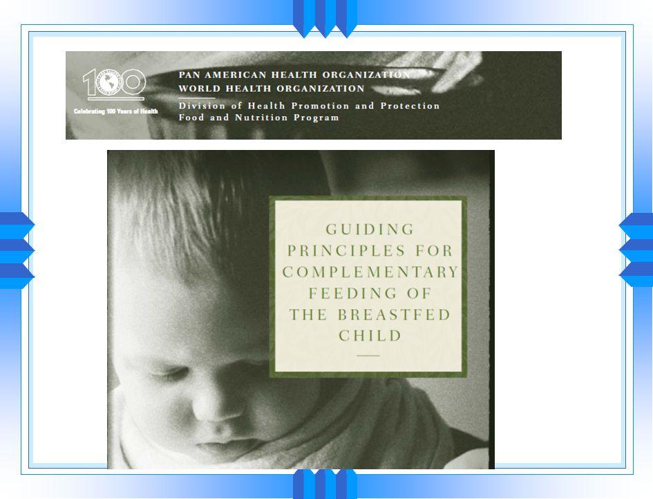 Tamamlayıcı beslenme Breast-Feeding: Early Influences on Later HealthBreast-Feeding: Early Influences on Later Health Advances in Experimental Medicin