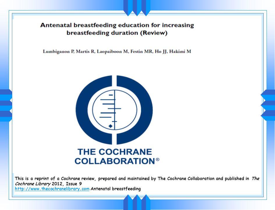 23 çalışma: 11 gelişmekte olan 2--RKÇ 12 gelişmiş ülke gözlemsel Çalışma sonuçları GİS enfeksiyonu dışında Anne sütü 6 ay tek başına verilmeye devam e