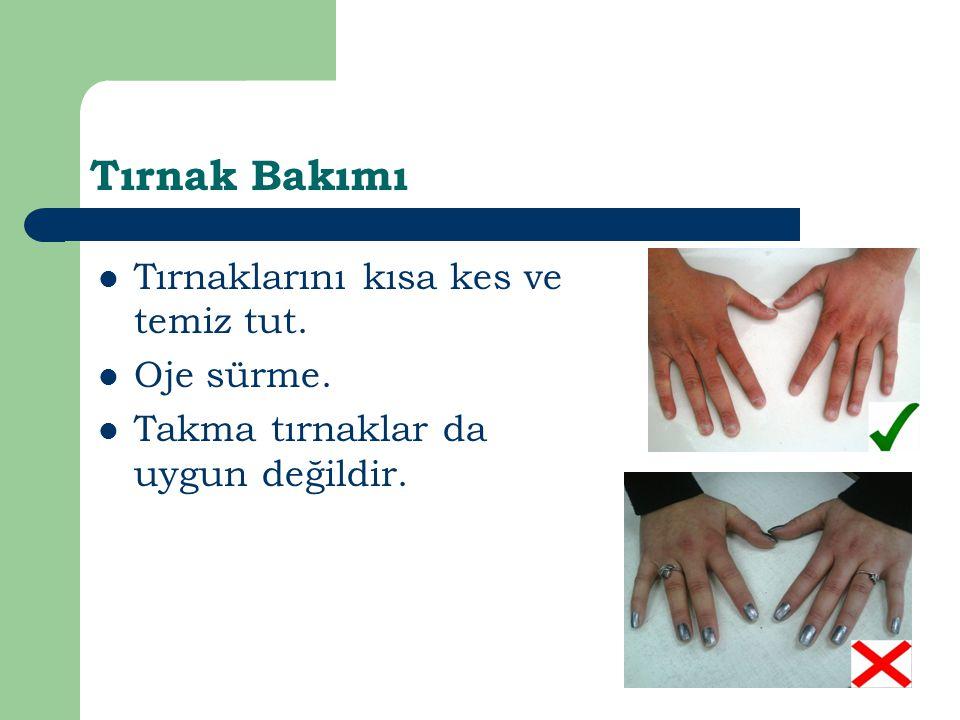 Ağız, Burun,Kulak Bakımı Yemeğin üzerine hapşırmaktan ve öksürmekten kaçın Kulağını,burnunu ve gözlerini çalışma alanında temizleme.Bunları temizlerken de kağıt mendil kullanıp sonrasında ellerini yıka.