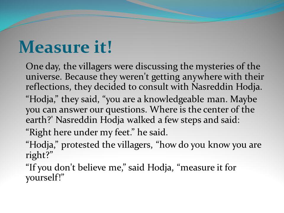 Baklava Hoca akşamleyin eve doğru yürürken, baklavayı çok seven bir köylüyle karşılaşır.