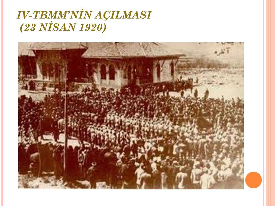III- SİVAS KONGRESİ (4-11 EYLÜL 1919) Sivas Kongresi'nde alınan kararlar ulusal kararlardır. Mustafa Kemal,Temsil Heyeti'nin başkanı seçilmekle Kurtul