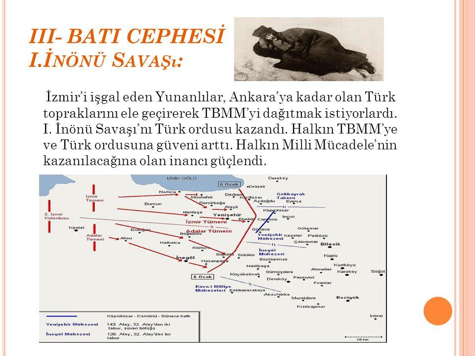 III- BATI CEPHESİ