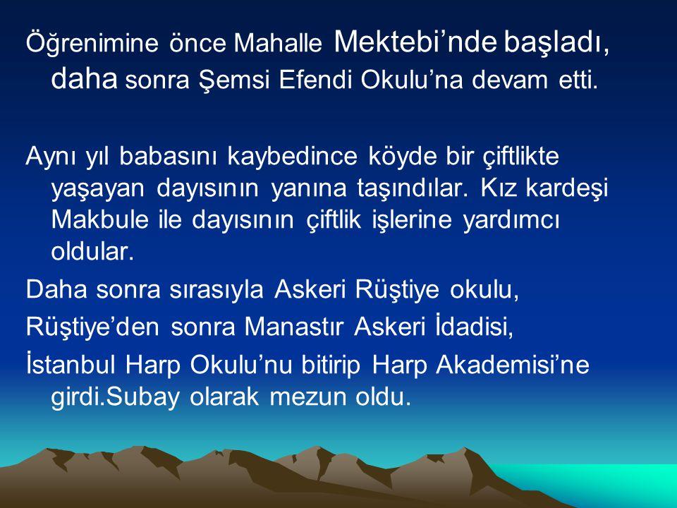 10 Kasım' da İstanbul Dolmabahçe Sarayı'nda hayata gözlerini yumdu.