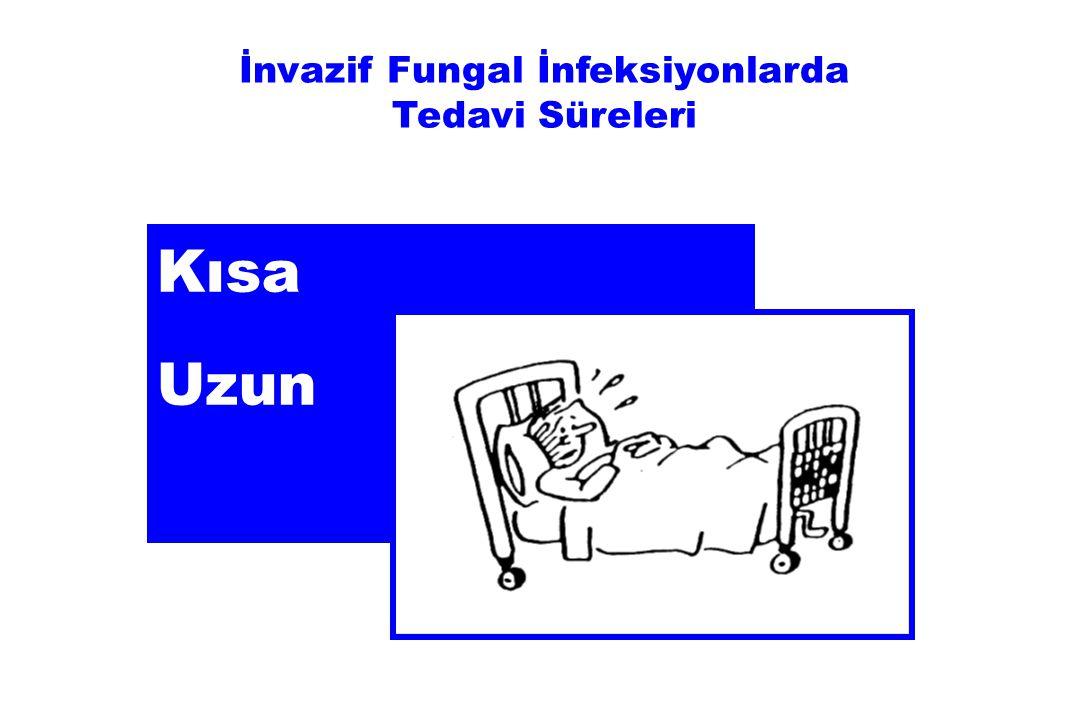 Kısa Uzun İnvazif Fungal İnfeksiyonlarda Tedavi Süreleri