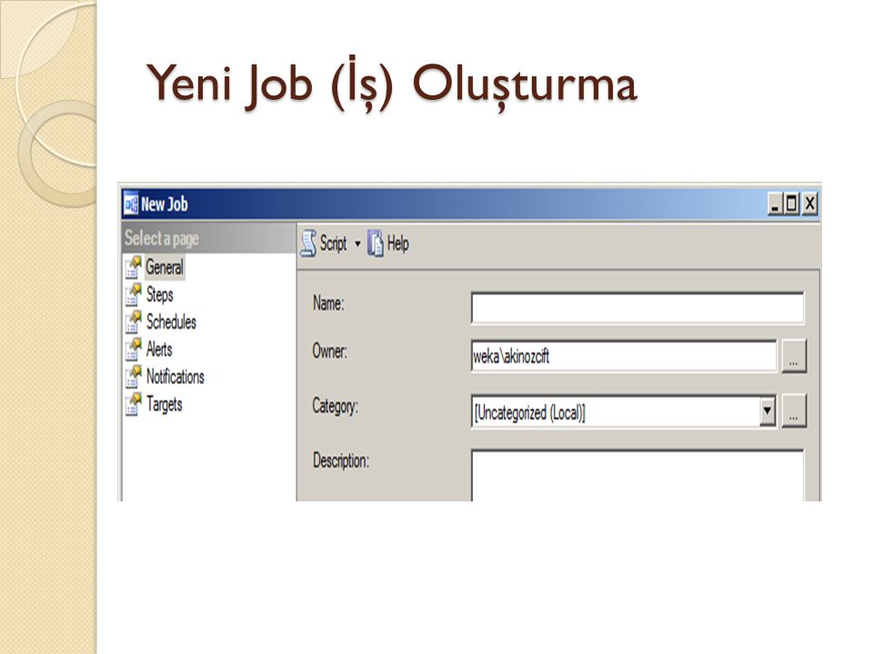 Mail Yapılandırma Management Studio >> Management >> Database Mail kısmında sa ğ tık yapıp Configure Database Mail i seçelim.