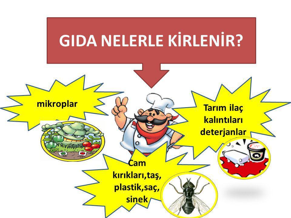 BESİN HAZIRLAMA VE PİŞİRMEDE DİKKAT !.