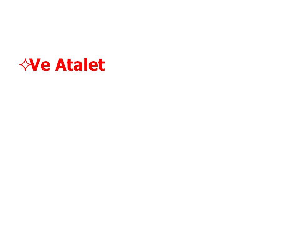  Ve Atalet