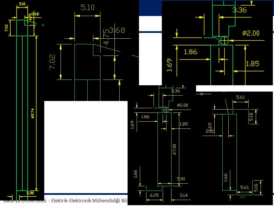 Teknik Resim AUTOCAD Dr. Ahmet KÜÇÜKER Sakarya Üniversitesi - Elektrik-Elektronik Mühendisliği Bölümü 11