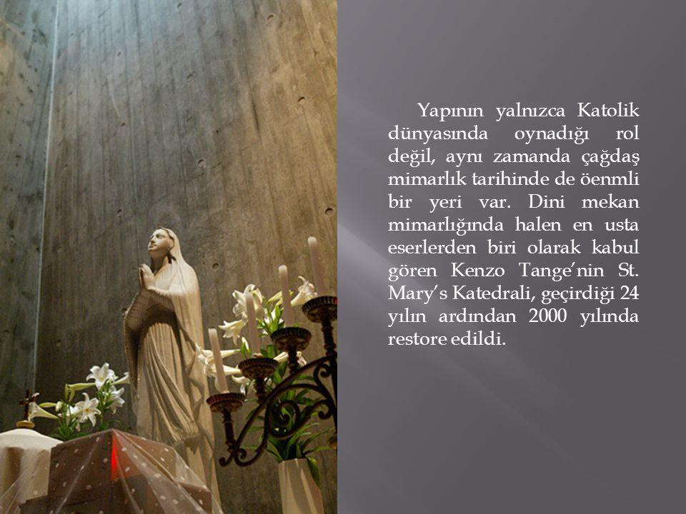 Yapının yalnızca Katolik dünyasında oynadığı rol değil, aynı zamanda çağdaş mimarlık tarihinde de öenmli bir yeri var.