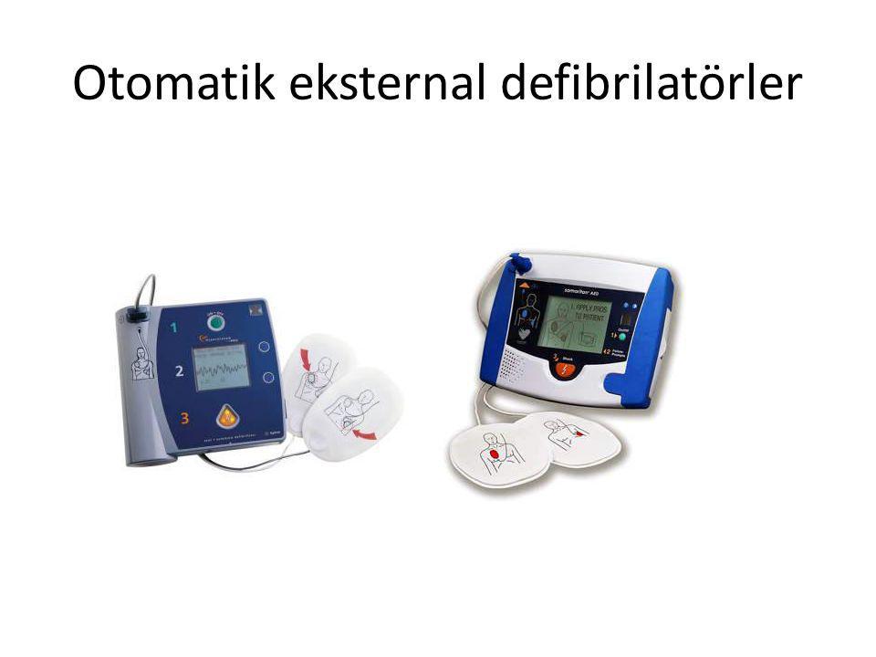Otomatik eksternal defibrilatörler