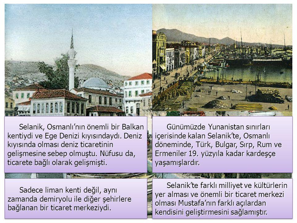 """Selanik Ben 19 Mayıs'ta doğdum. Mustafa, 1881 yılında Selanik'te dünyaya geldi. Tam doğum günü bilinmemektedir ve daha sonra kendisine sorulduğunda """""""