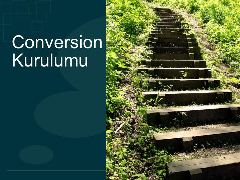 © 2010 MediaMind Technologies Inc. | All rights reserved Conversion Kurulumu