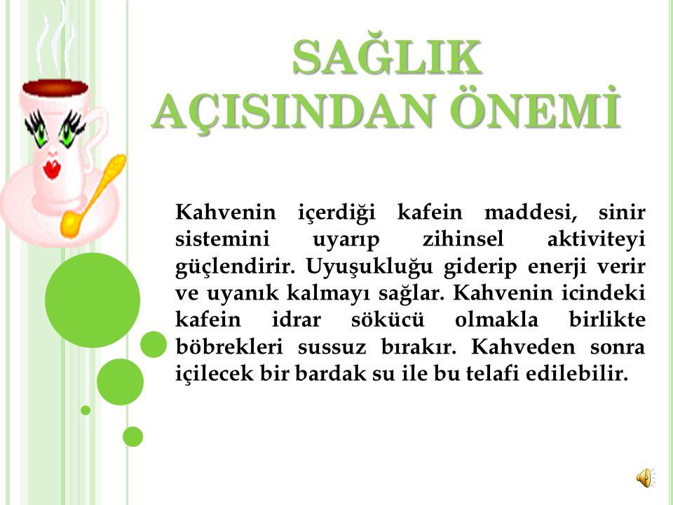 Türk kahvesine ilişkin başka bir gelenek de özellikle kadınlar arasında yaygın olan kahve falıdır.