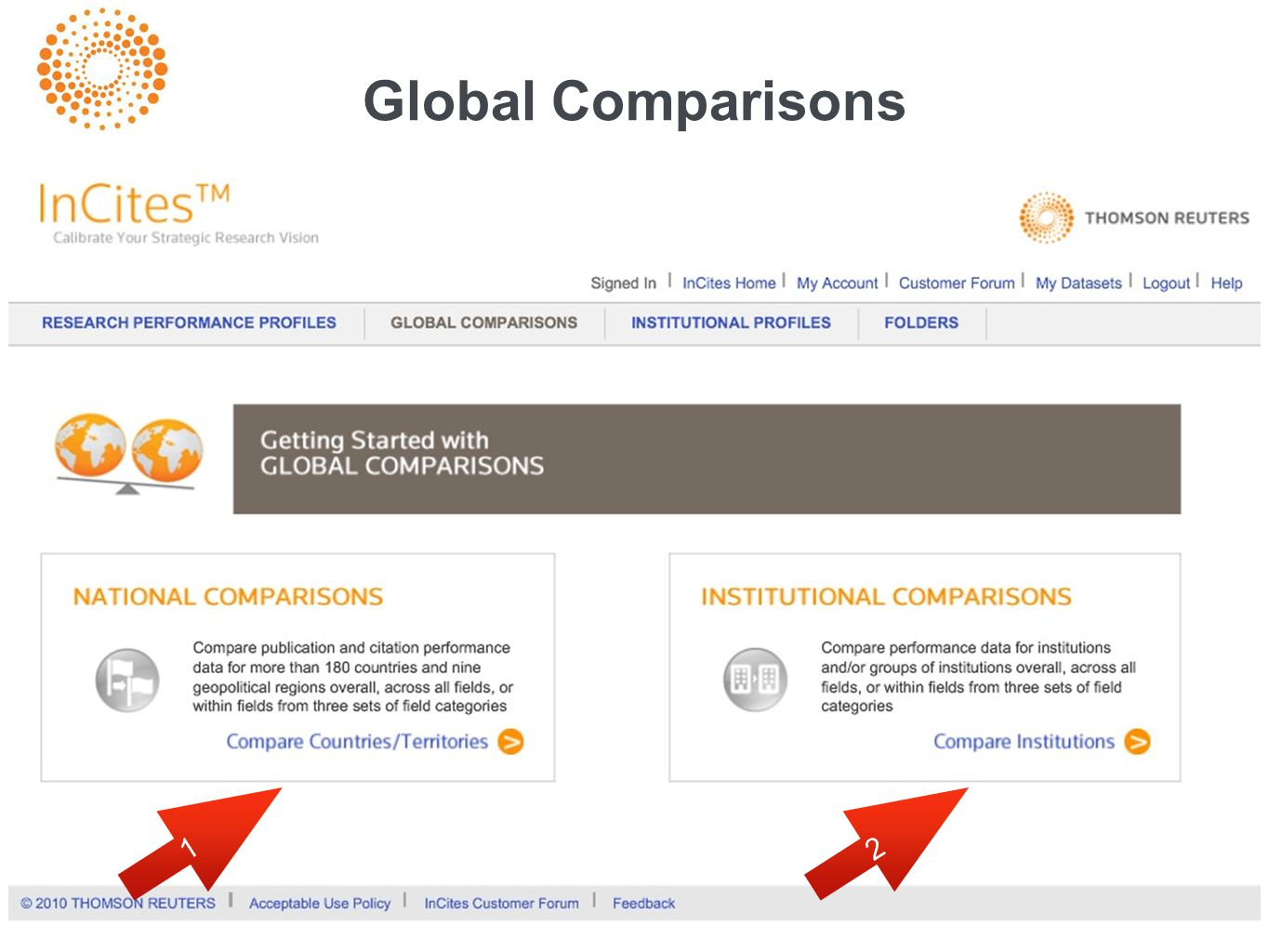 Global Comparisons 12