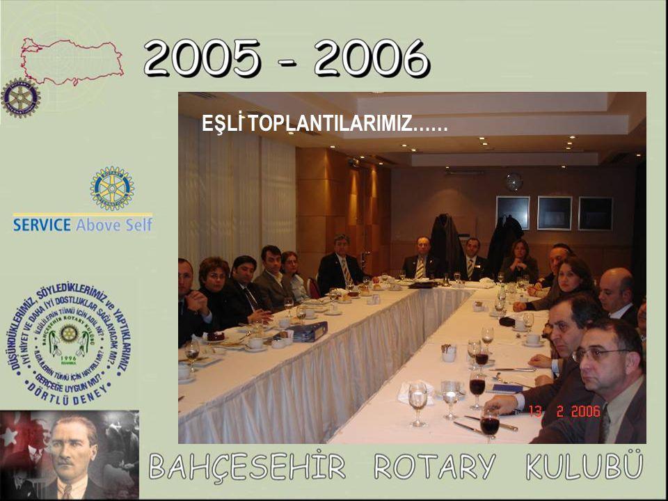 Almanya Traunstein Rotary Kulübünün gerçekleştirdiği 1 Haftalık İstanbul seyahatinde Rotary Kulüp Başkanı Rtn.Hans Schwap ve 25 lise son sınıf öğrencisi, 2 öğretmeni kulübümüzün davetlisi oldular.