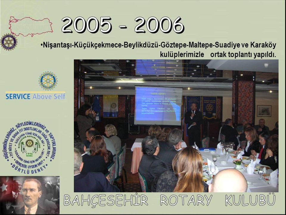 Nişantaşı-Küçükçekmece-Beylikdüzü-Göztepe-Maltepe-Suadiye ve Karaköy kulüplerimizle ortak toplantı yapıldı.