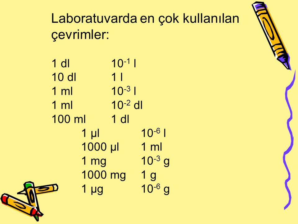 Kullanılışlarına göre klinik biyokimyasal analizler 1) Rutin analizler.