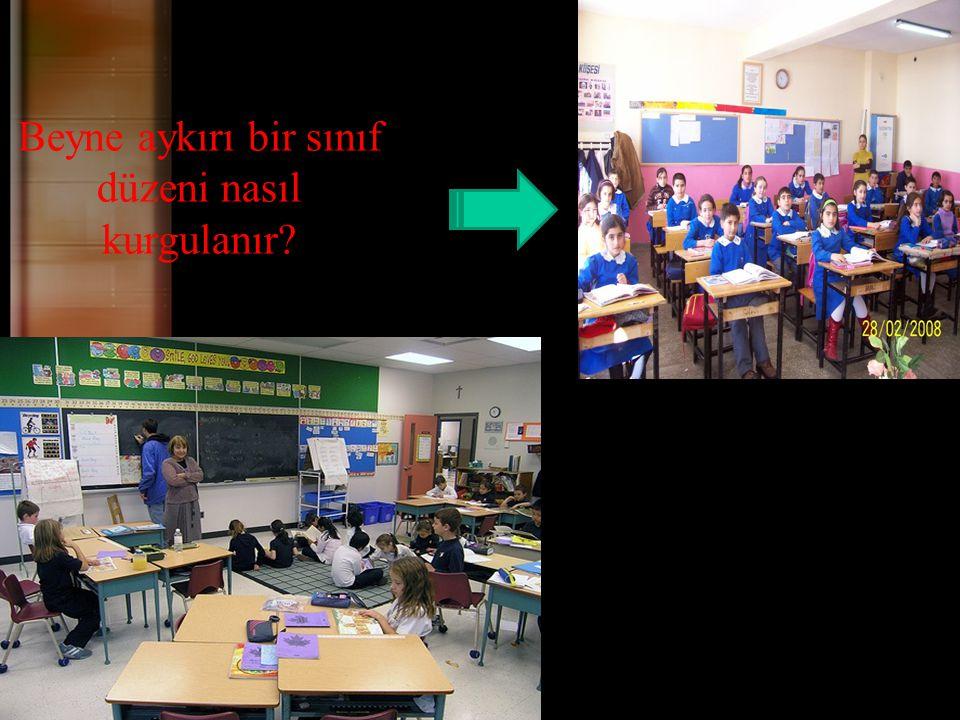 Beyne aykırı bir sınıf düzeni nasıl kurgulanır?