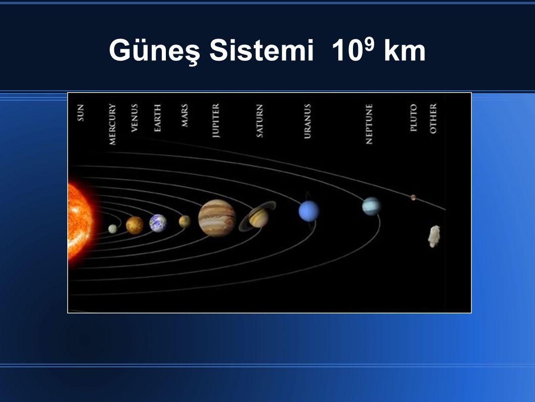Güneş Sistemi 10 9 km