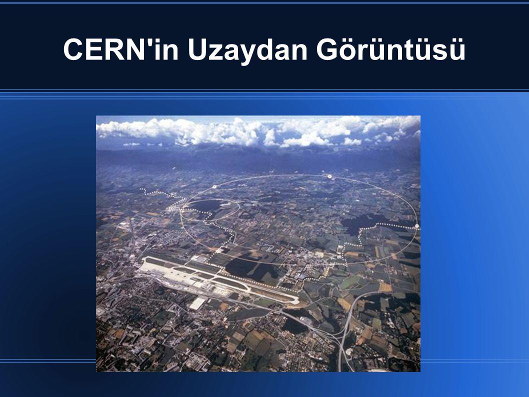 CERN'in Uzaydan Görüntüsü