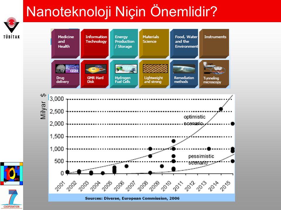  Gelecek Nanobilimler ve Nanoteknolojilerde.