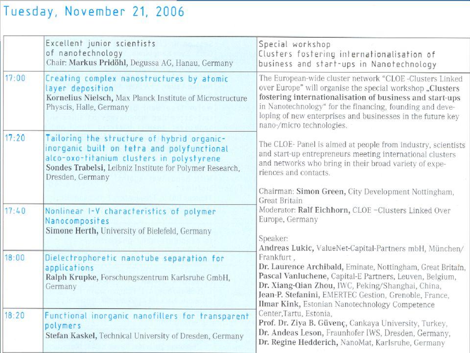 21-11-2007 Ülkemizin Güvenliği İçin Nanoteknolojide Doğru Modelin Belirlenmesi