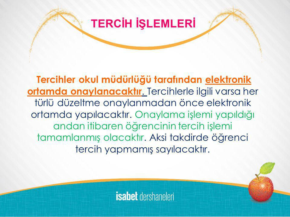 LOGO DEM DERSANESİ 2011-'12 10 DALDA BAŞARI ÖDÜLLERİ Tercihler okul müdürlüğü tarafından elektronik ortamda onaylanacaktır.