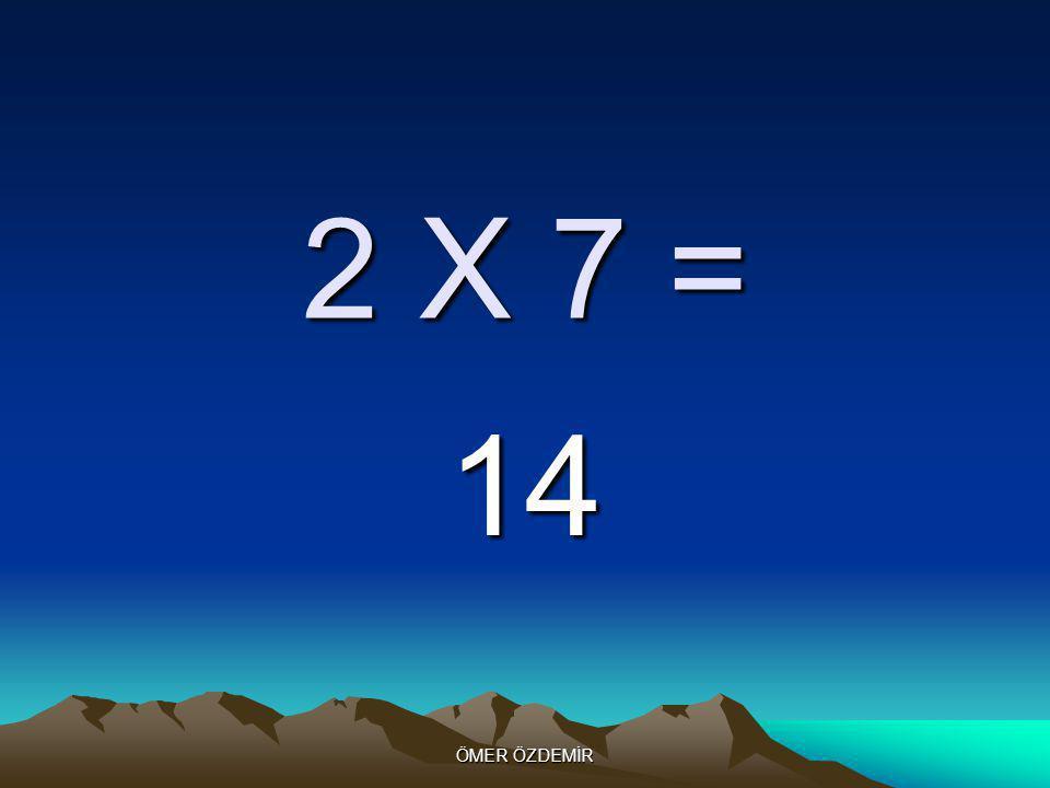 ÖMER ÖZDEMİR 2 X 6 = 12
