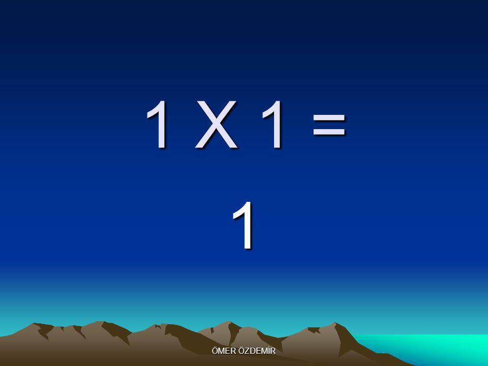 ÖMER ÖZDEMİR 2 X 10 = 20
