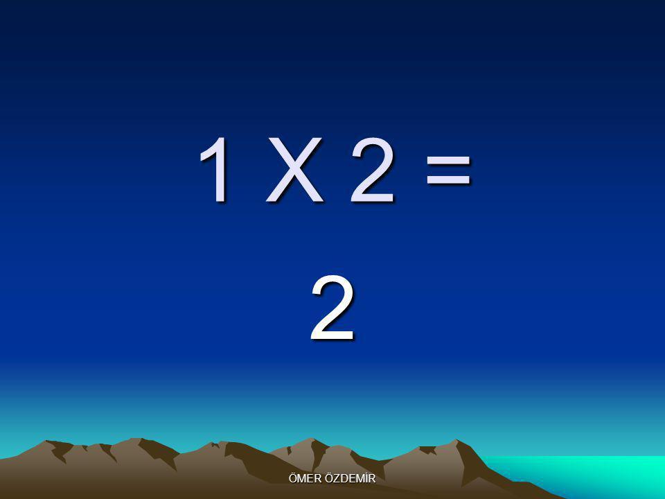 ÖMER ÖZDEMİR 1 X 1 = 1