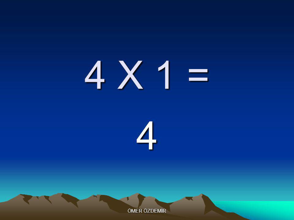 ÖMER ÖZDEMİR 5 X 10 = 50