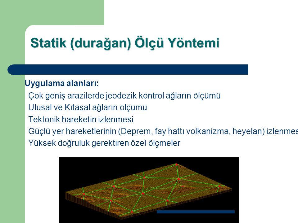 Statik aralıklı kinematik ölçme yöntemidir.