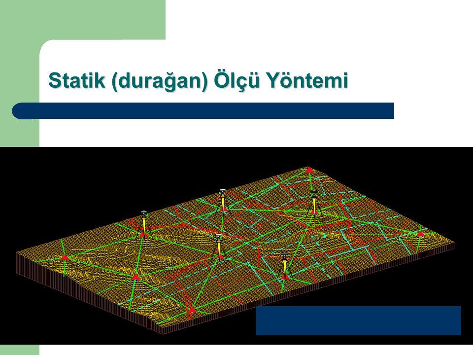 Baz UzunluğuUyu Sayısı GDOP Gözlem Süresi Doğruluk 20 - 50 Km 50 - 100 Km > 100 Km 2 - 3 hr min.