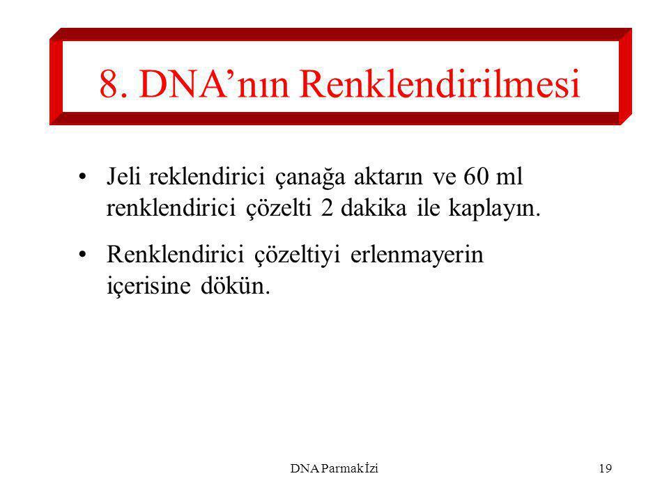 20 9. Jeli Analiz Edin. CS S1 S2 S3 S4 S5 M Süphelilerden hangisi suçlu? DNA Parmak İzi