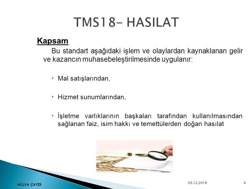 Kitaplar TMS – TFRS Kitabı, Prof Dr.Remzi Örten, Prof Dr.