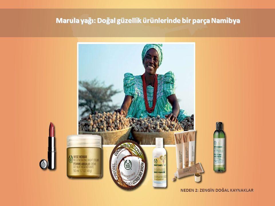 Marula yağı: Doğal güzellik ürünlerinde bir parça Namibya NEDEN 2: ZENGİN DOĞAL KAYNAKLAR