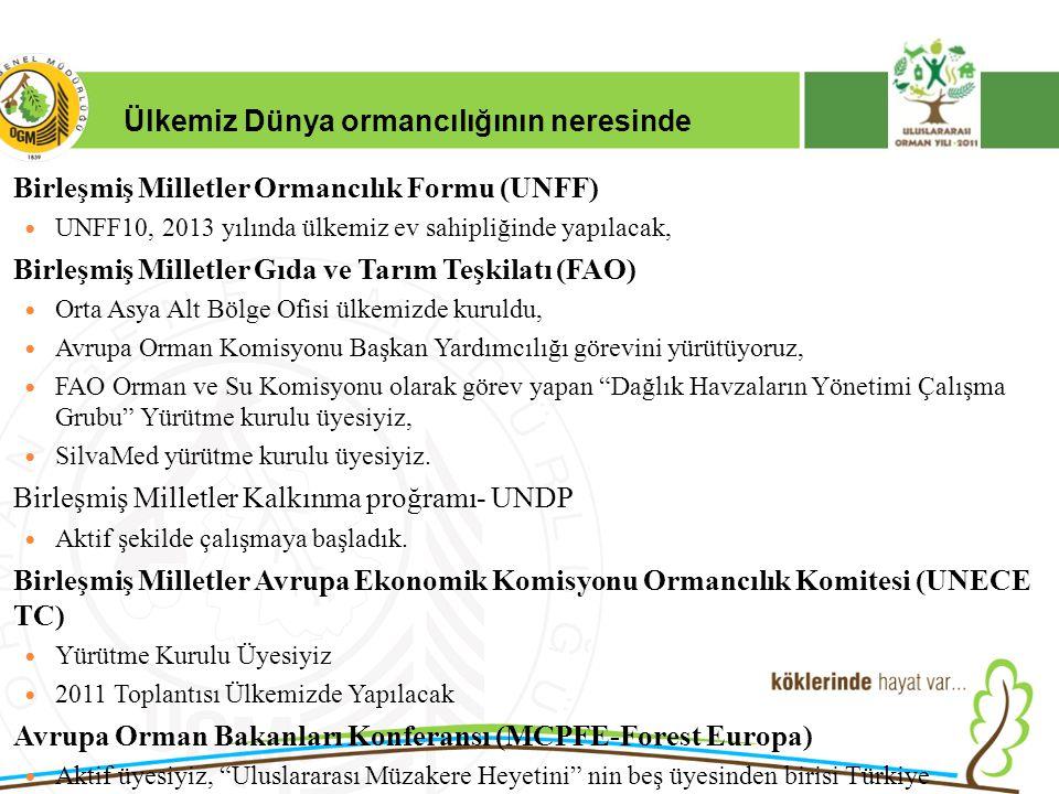 16/12/2010 Kurumsal Kimlik 2 Ülkemiz Dünya ormancılığının neresinde Birleşmiş Milletler Ormancılık Formu (UNFF) UNFF10, 2013 yılında ülkemiz ev sahipliğinde yapılacak, Birleşmiş Milletler Gıda ve Tarım Teşkilatı (FAO) Orta Asya Alt Bölge Ofisi ülkemizde kuruldu, Avrupa Orman Komisyonu Başkan Yardımcılığı görevini yürütüyoruz, FAO Orman ve Su Komisyonu olarak görev yapan Dağlık Havzaların Yönetimi Çalışma Grubu Yürütme kurulu üyesiyiz, SilvaMed yürütme kurulu üyesiyiz.